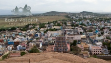a view of madurai from thiruparankundram hill